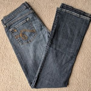 EUC See Thru Soul Boot Cut Jeans - Size 29